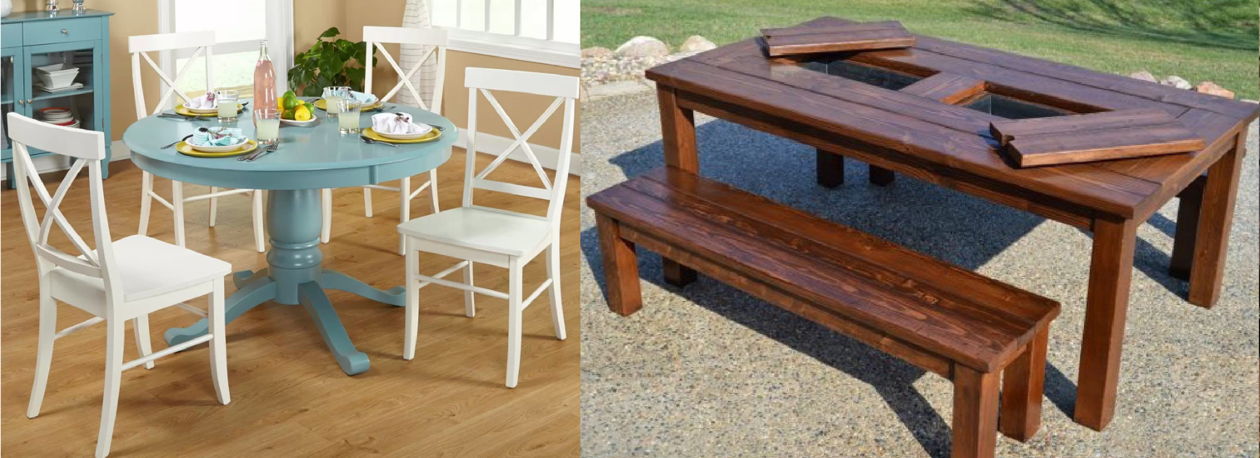 Purchase raffle tickets below to win one of these incredible tables - ONLY $5 EACH