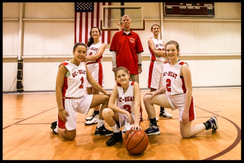 G.C. HEAT Middle School Girls coached by Louis Cooper