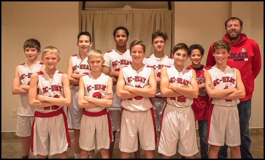 Middle School Boys coached by Chad Slagg