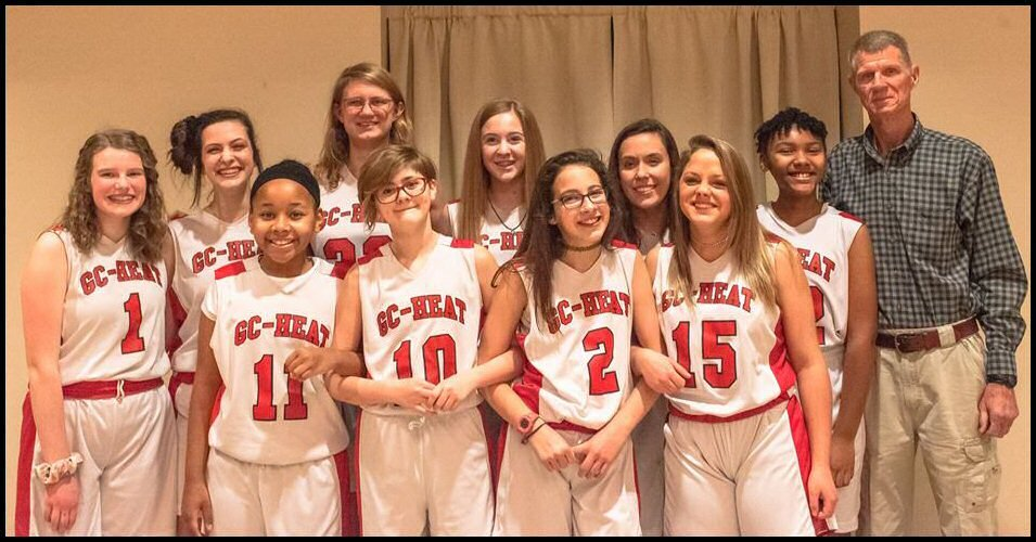 MIddle School Girls coached by Louis Cooper
