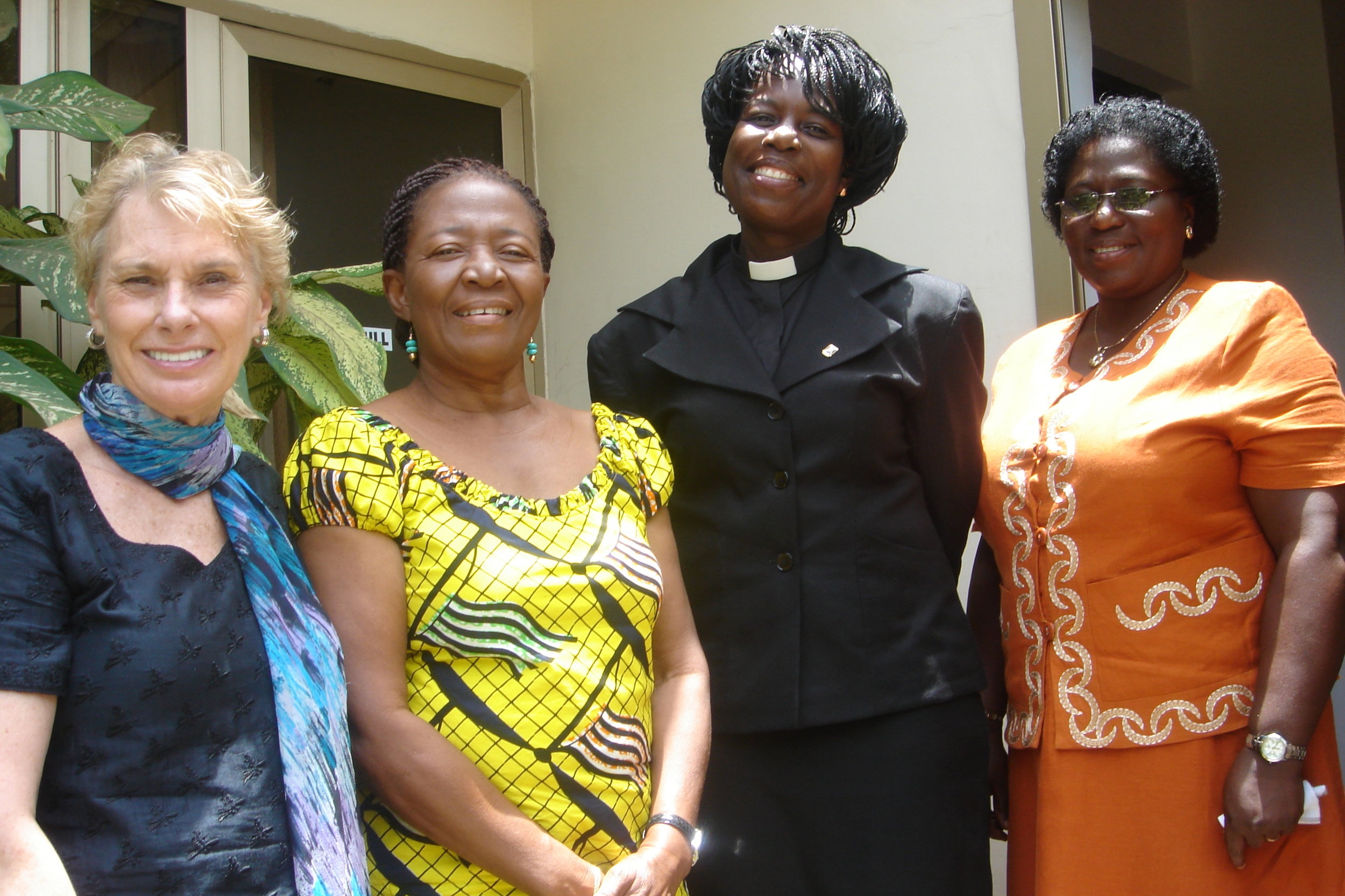 The first lady of Ghana, Ernestina Mills, invited Susan to bring economic opportunity ideas to a few of the nonprofits serving the capital city of Accra and surrounding villages.