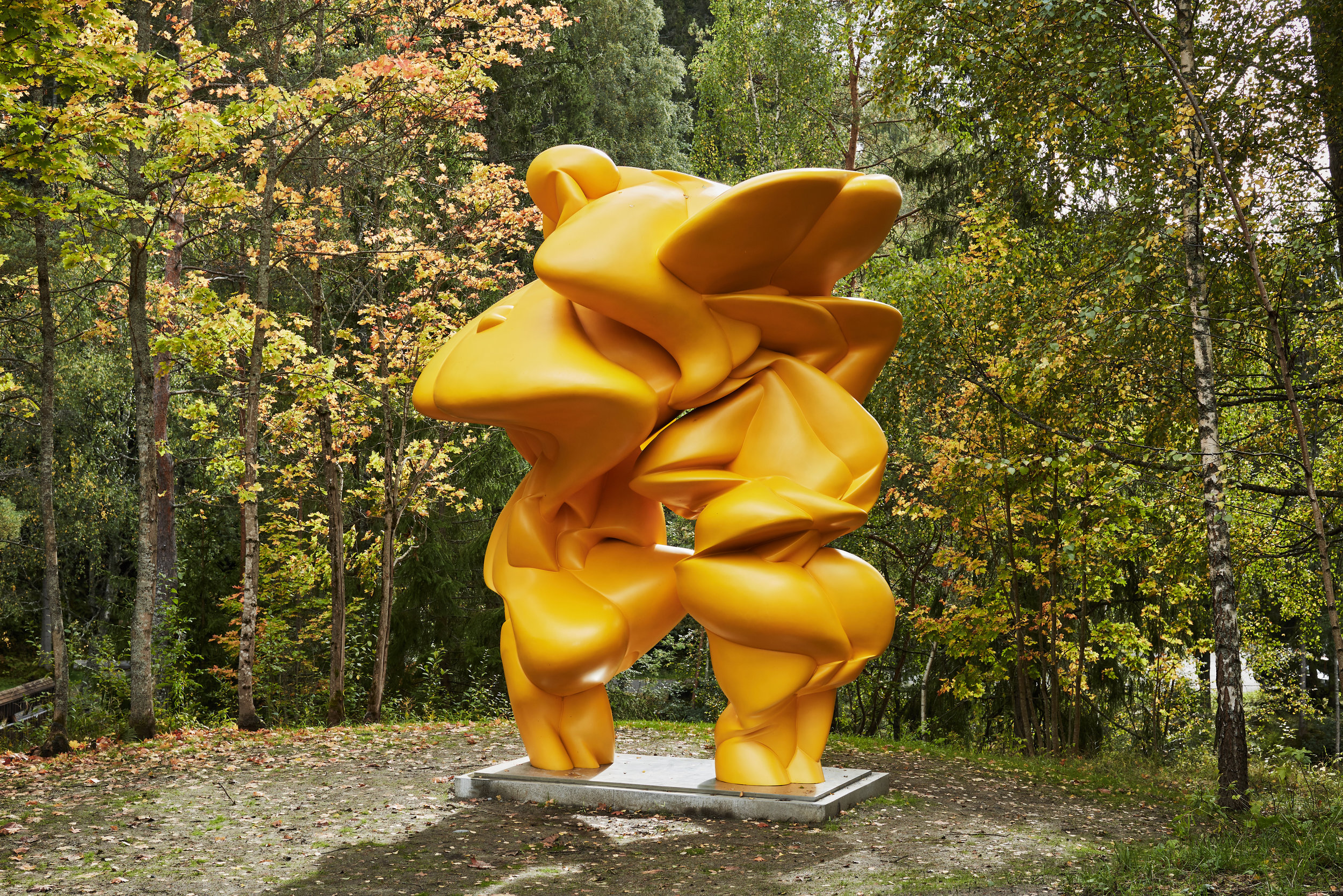 Tony Cragg, Castor & Pollux, 2015  photo credit: Kistefos Museet and Frederic Boudin