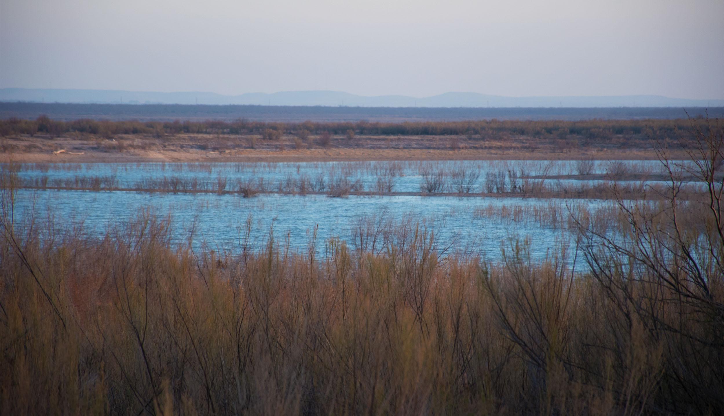 Twin Buttes Reservoir