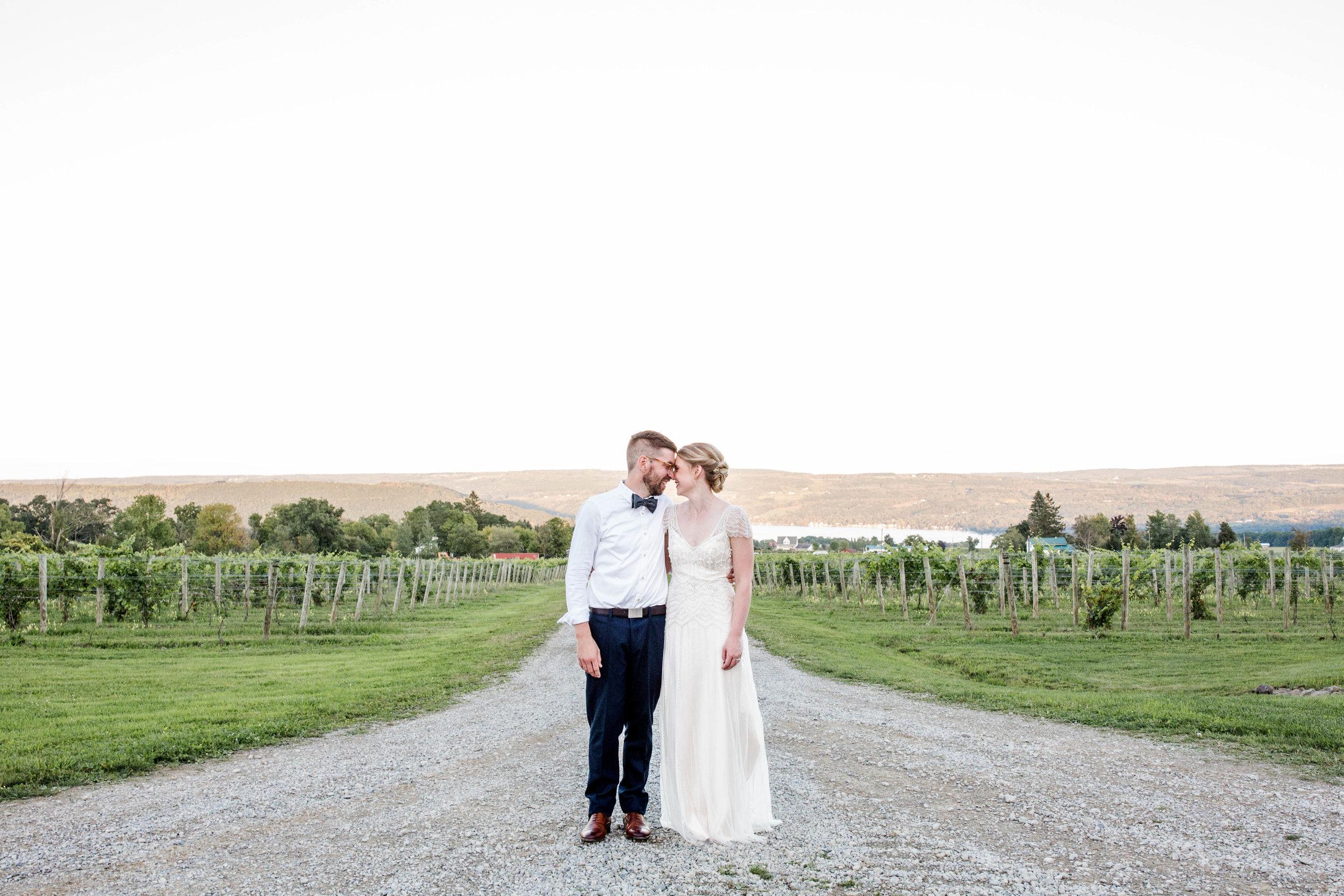 Meghan & Tim's Finger Lake Wedding -