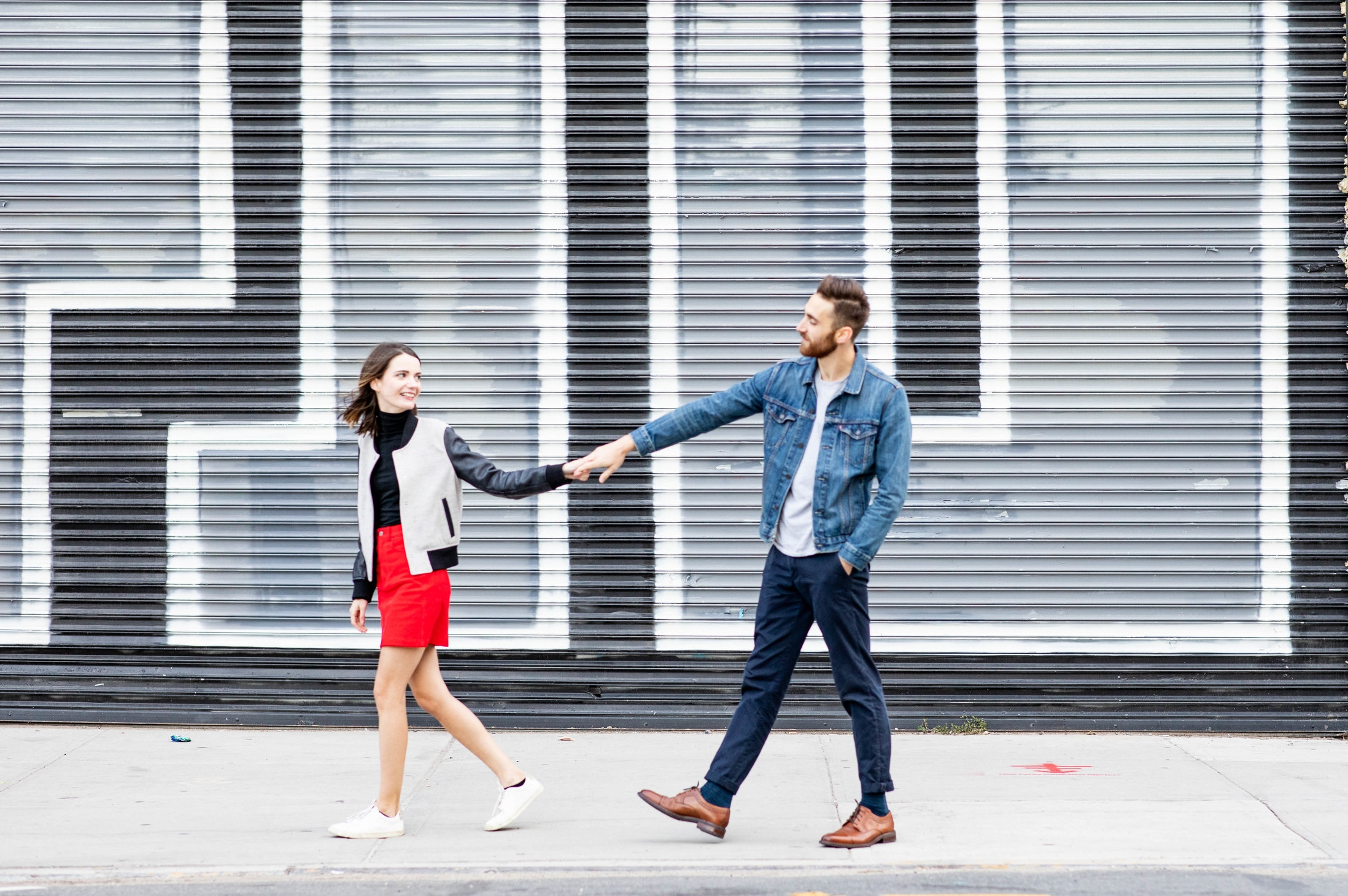 Stephanie & Mike's Greenpoint Engagement Shoot -