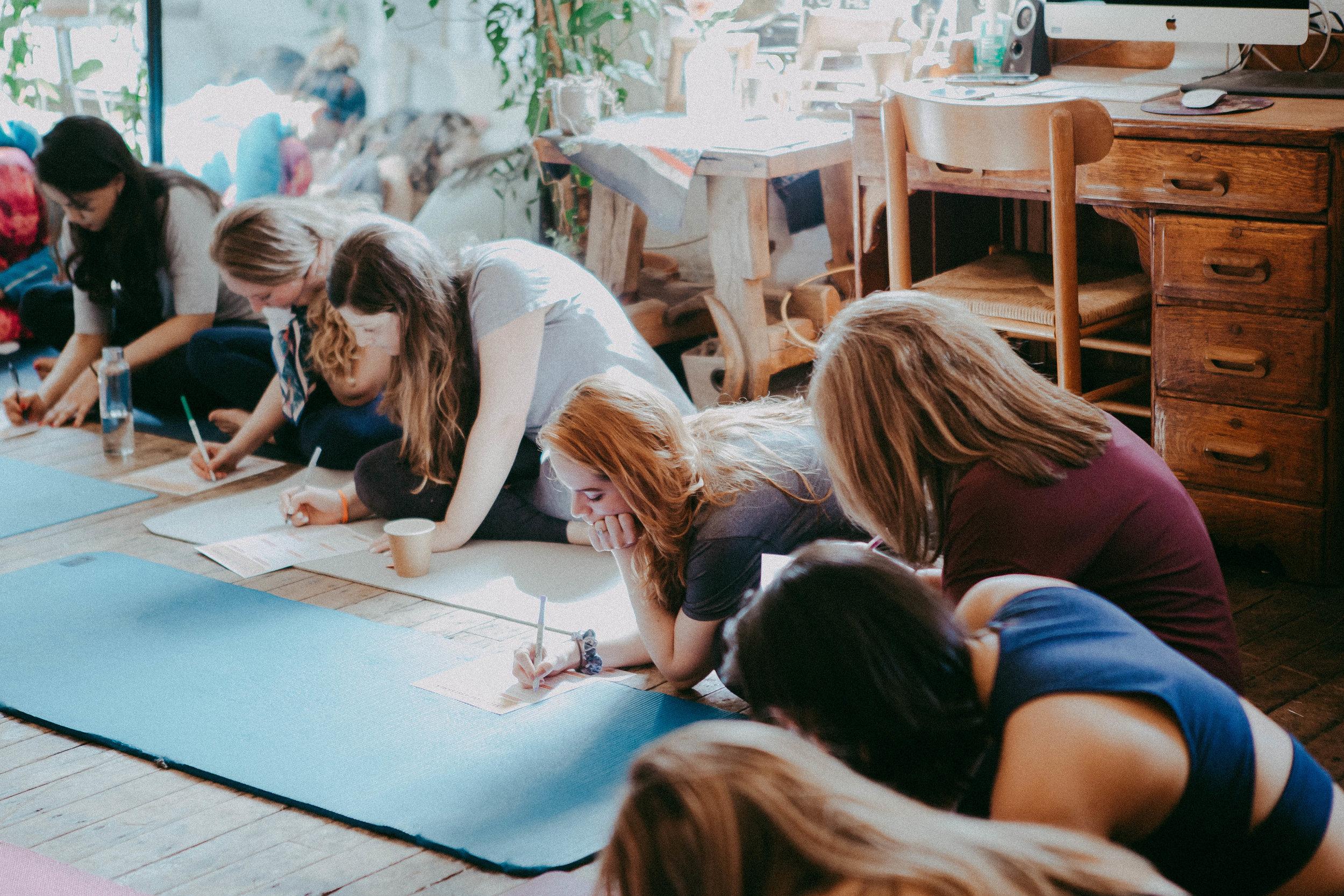 Stress Management Exercise led by  Aisle Talk