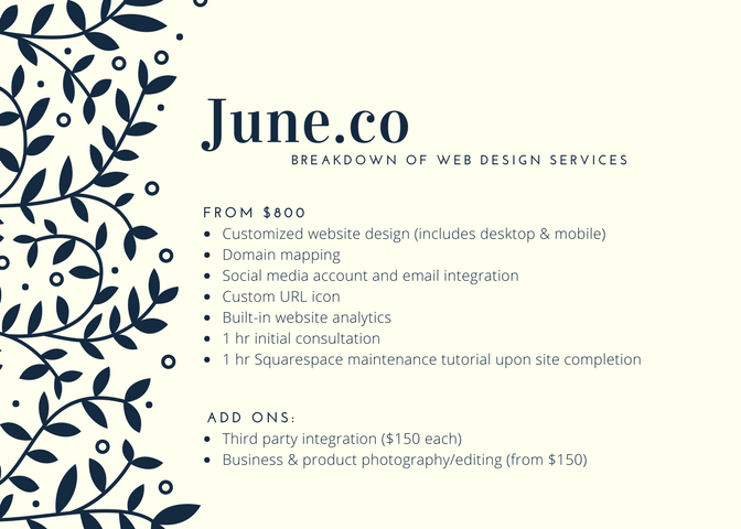 June.co Web Design