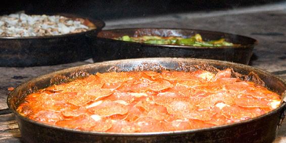 Pequod's Pizza - $$, Lincoln Park, Pizza