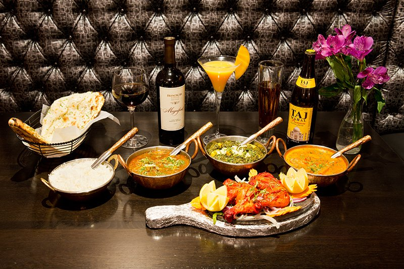 India House - Veggie and Meat$$, River North, Indian, Vegetarian, Delivery
