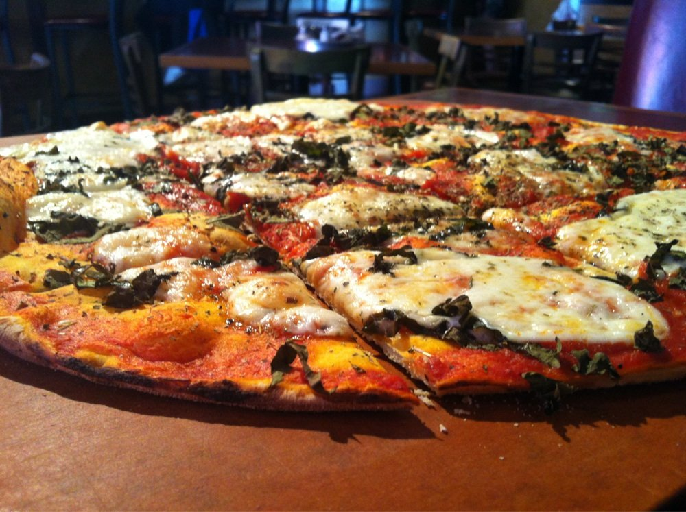 Flo & Santos - $$, South Loop, Pizza, Sidewalk Seating, Patio Seating, Dog Friendly, Delivery