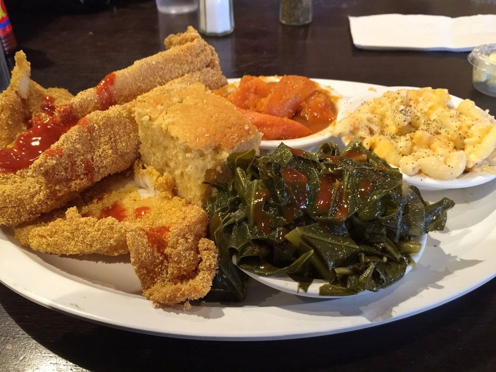 Chicago's Home of Chicken & Waffles - $$, Bronzeville, Southern, Sidewalk Seating
