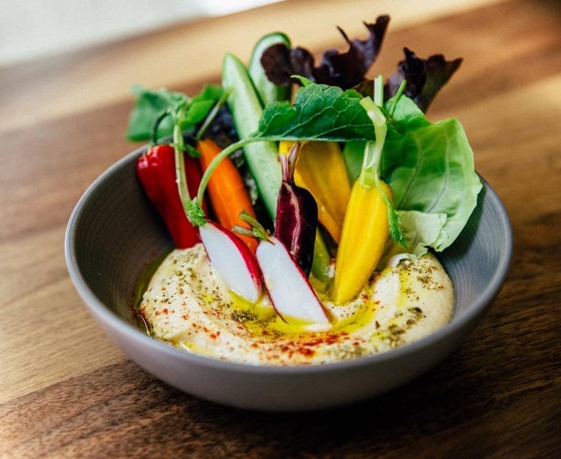 Ēma - $$, River North, Mediterranean, Vegetarian, Gluten-free, Sidewalk Seating