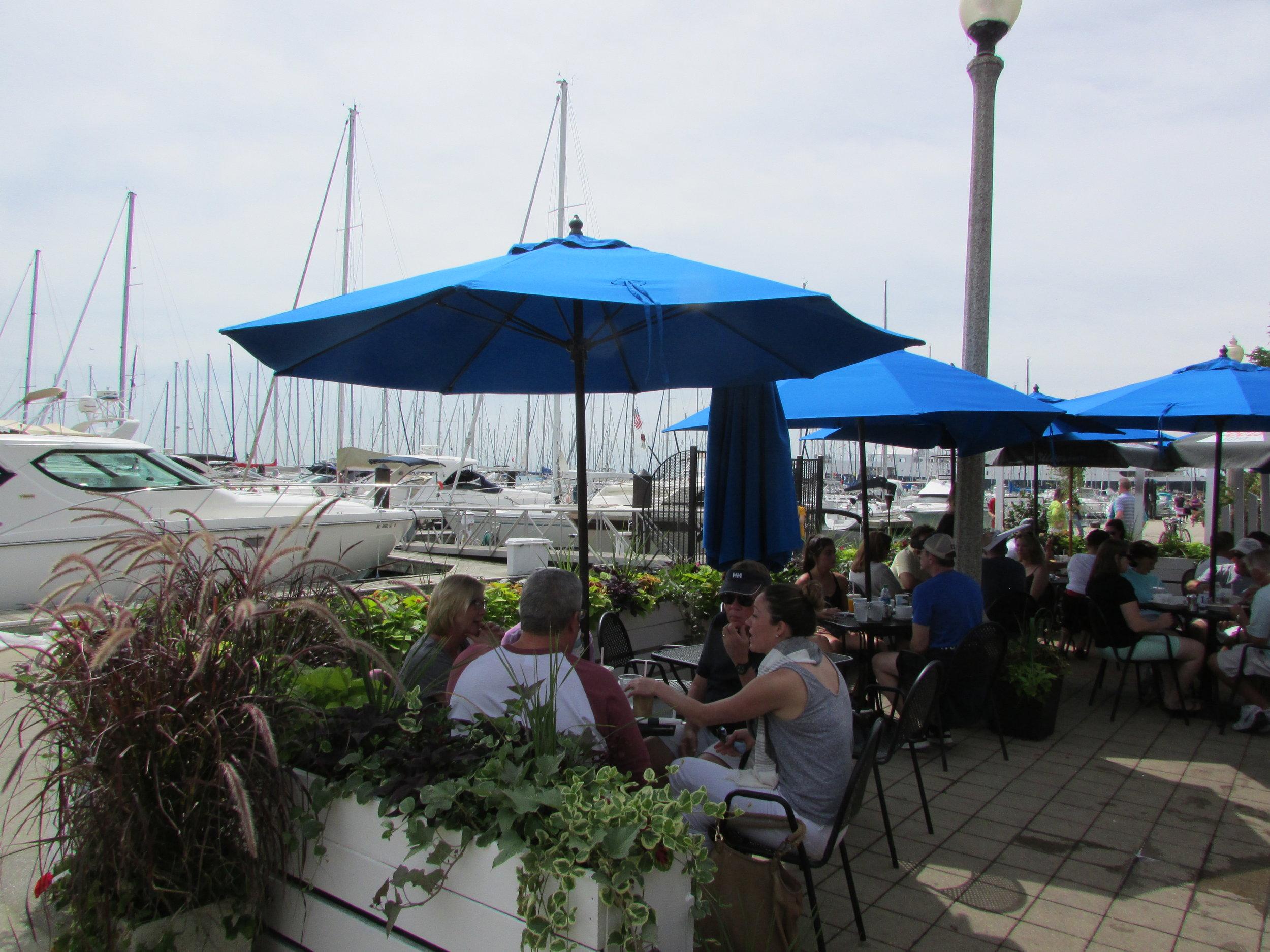 Cafe Michelle at Dusable Harbor - $$, Loop Bar Food, Lakefront, Dog Friendly