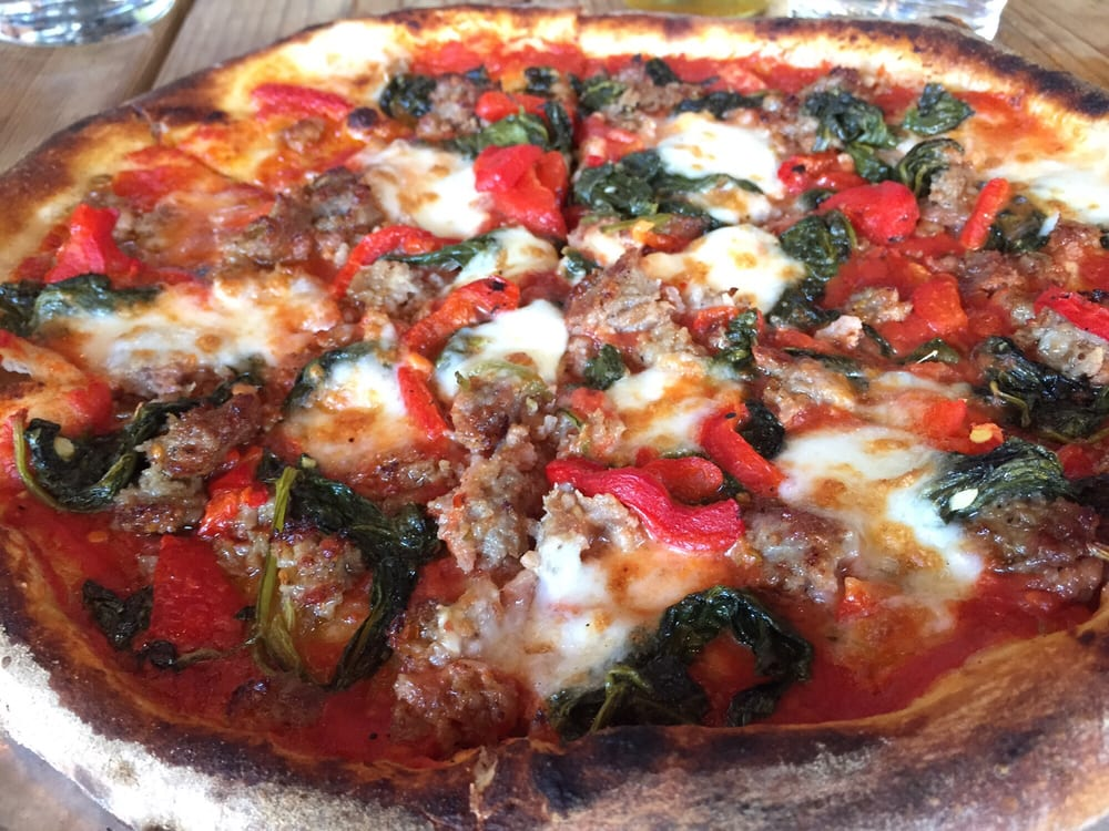 Parlor Pizza - $$, West Loop, Wicker Park, Pizza, Patio Seating, Rooftop, Dog Friendly, Delivery