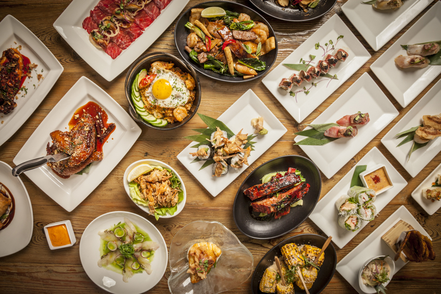 Sunda - $$, River North, Asian Fusion, Sushi, Vegetarian, Vegan, Gluten-free, Sidewalk Seating, Delivery
