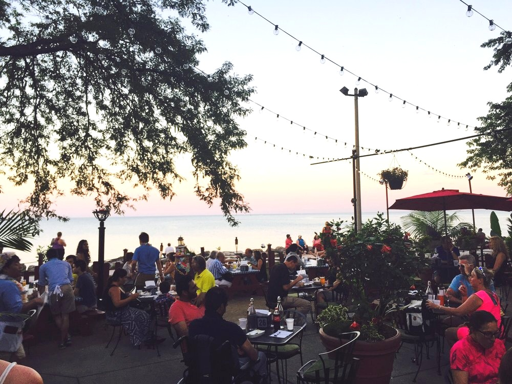 The Waterfront Cafe - $$, Edgewater, Bar Food, Lakefront, Dinner & Tunes, Dog Friendly