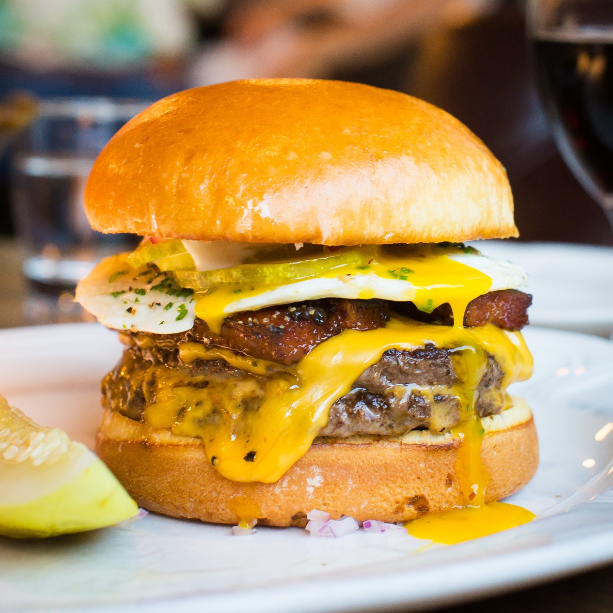 6. Au Cheval - $$, West Loop, Burgers, Brunch, Gluten-free