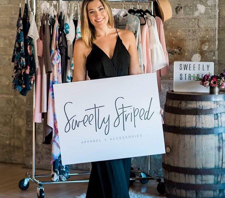 Jessica Sweeten of Sweetly Striped, Photo by Brandi Schutt, @thoughtsby_brandi