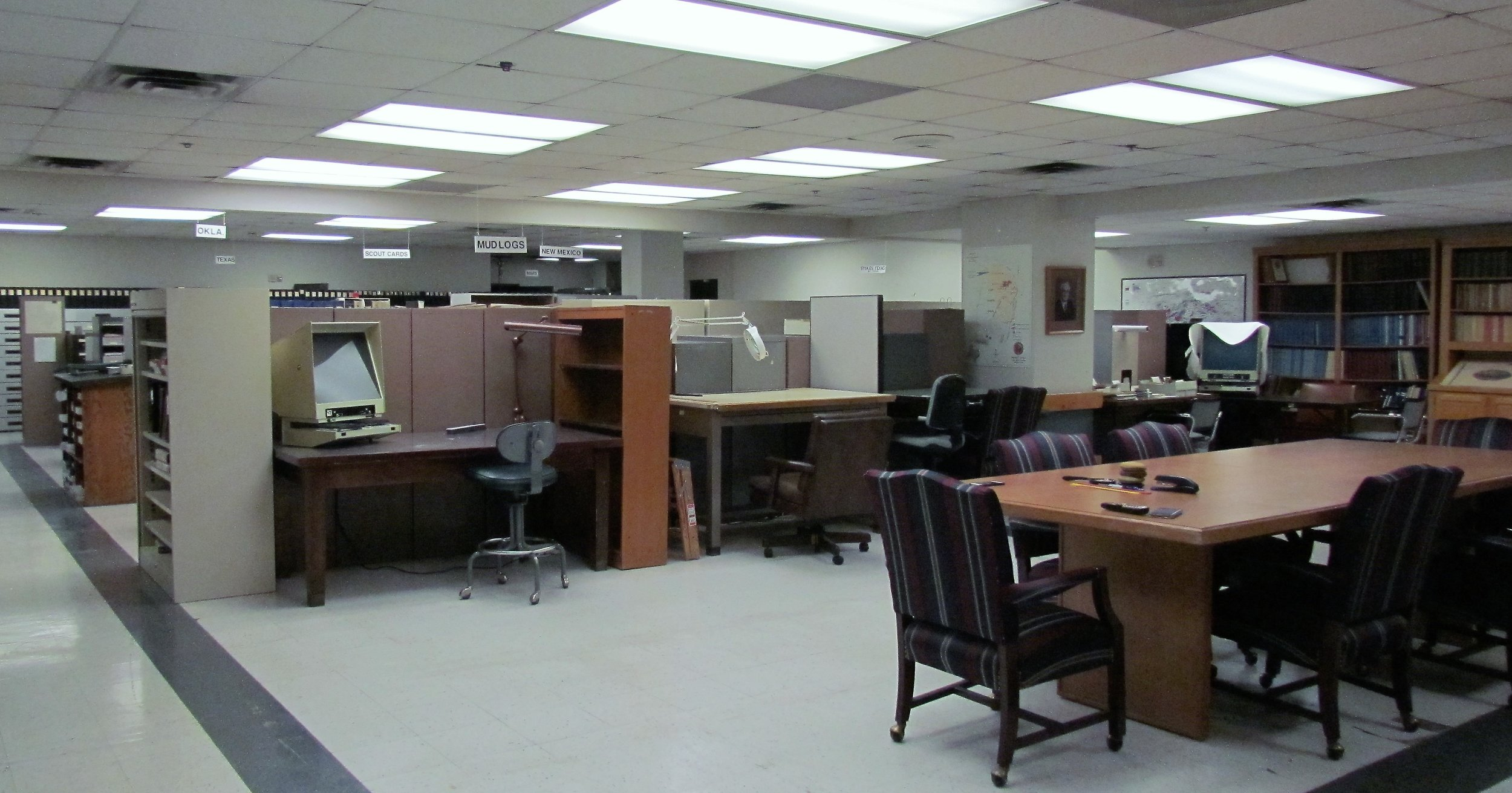 Work space and Meeting Area -- Fort Worth OIL.