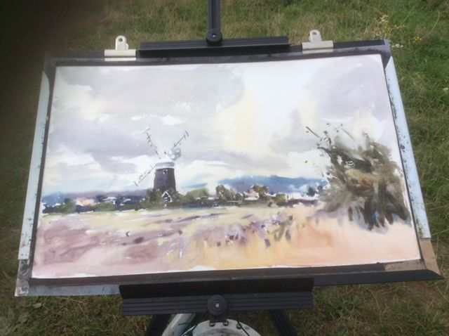 Jem's demo at Burnham Overy windmill