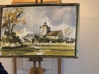 John Hoar demo Burnham Overy Town church -