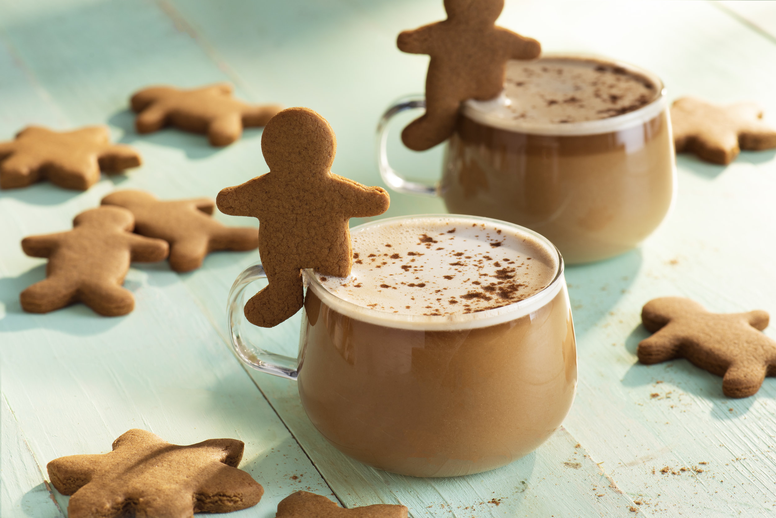 Gingerbread Oat Milk Latte