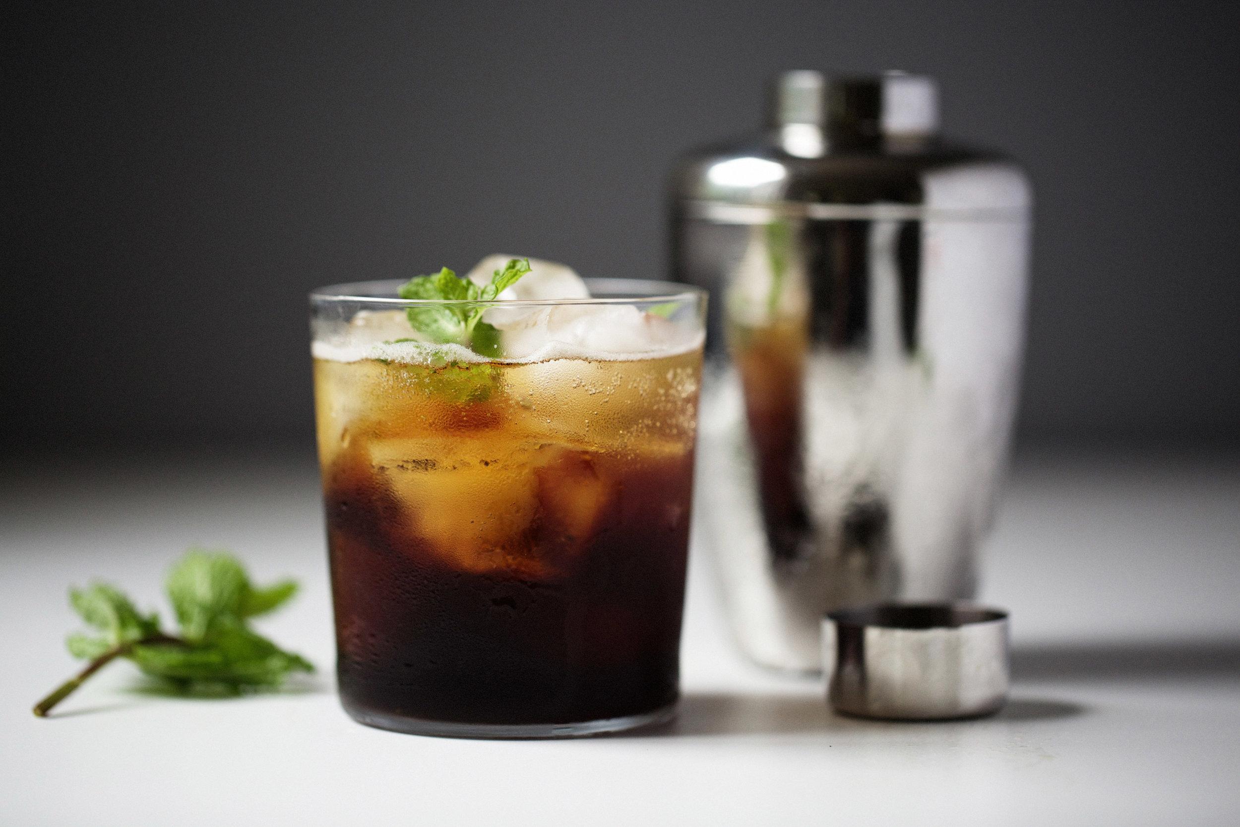 Sparkling Espresso & Mint