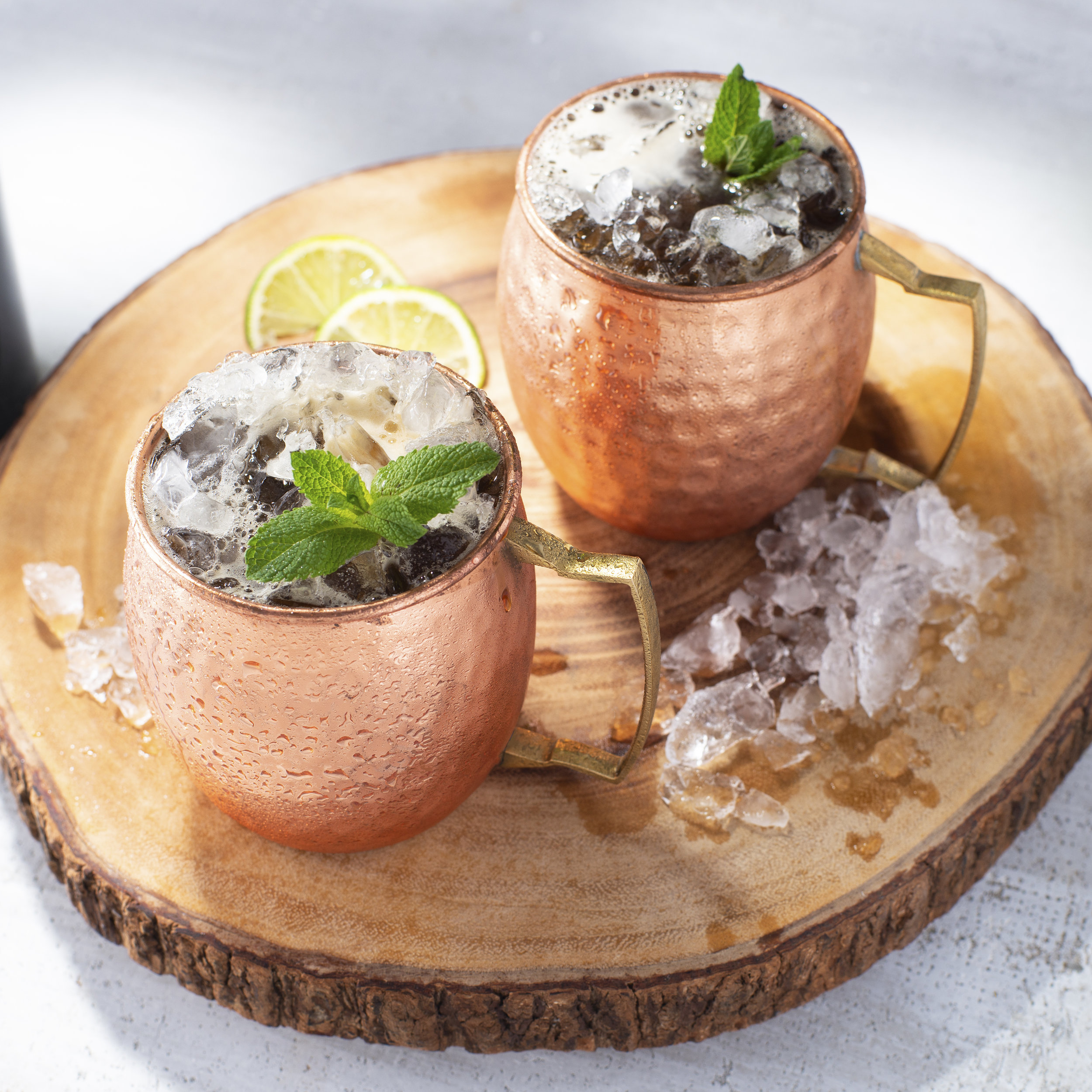 Cold Brew Ginger Mule