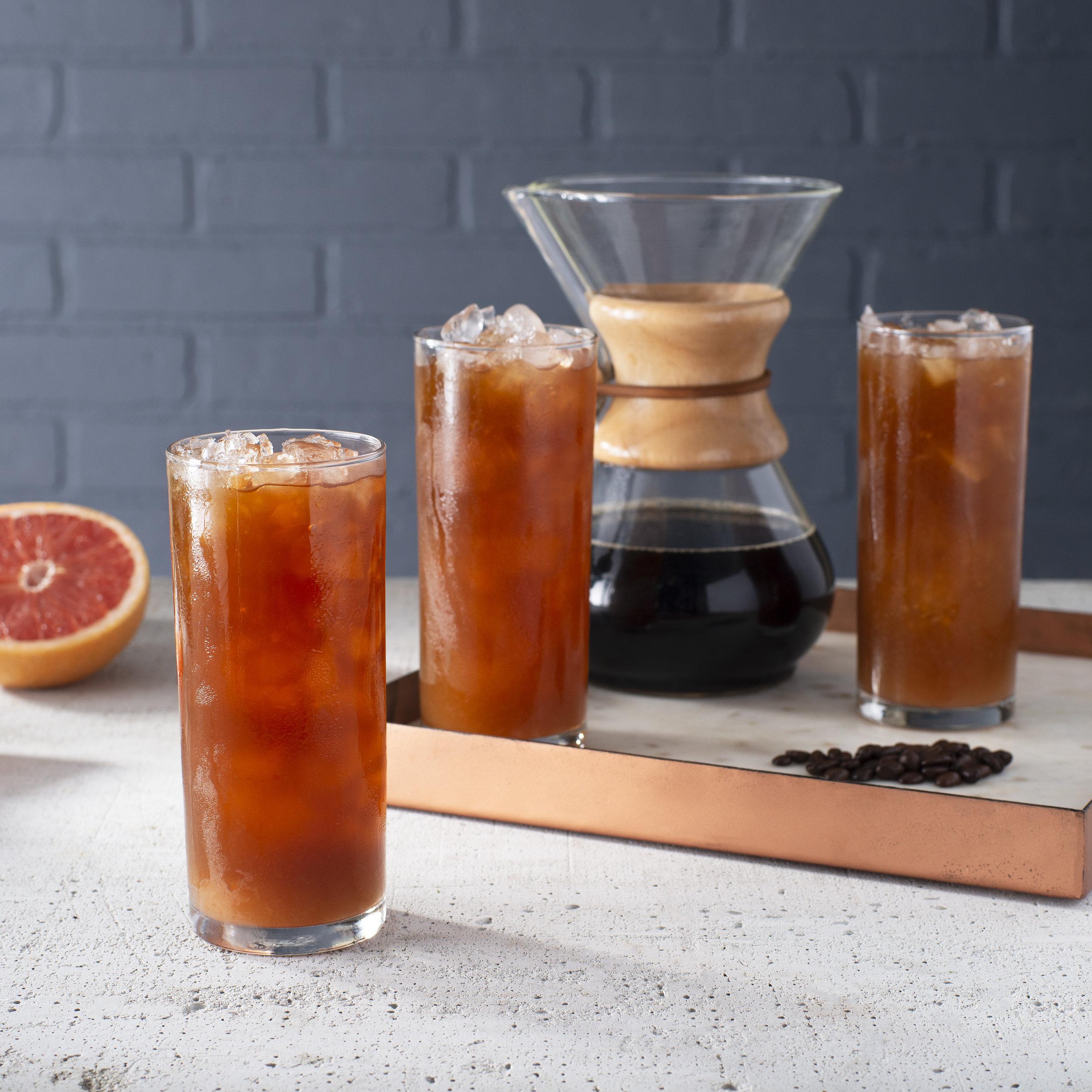 Iced Coffee Grapefruit Palmer