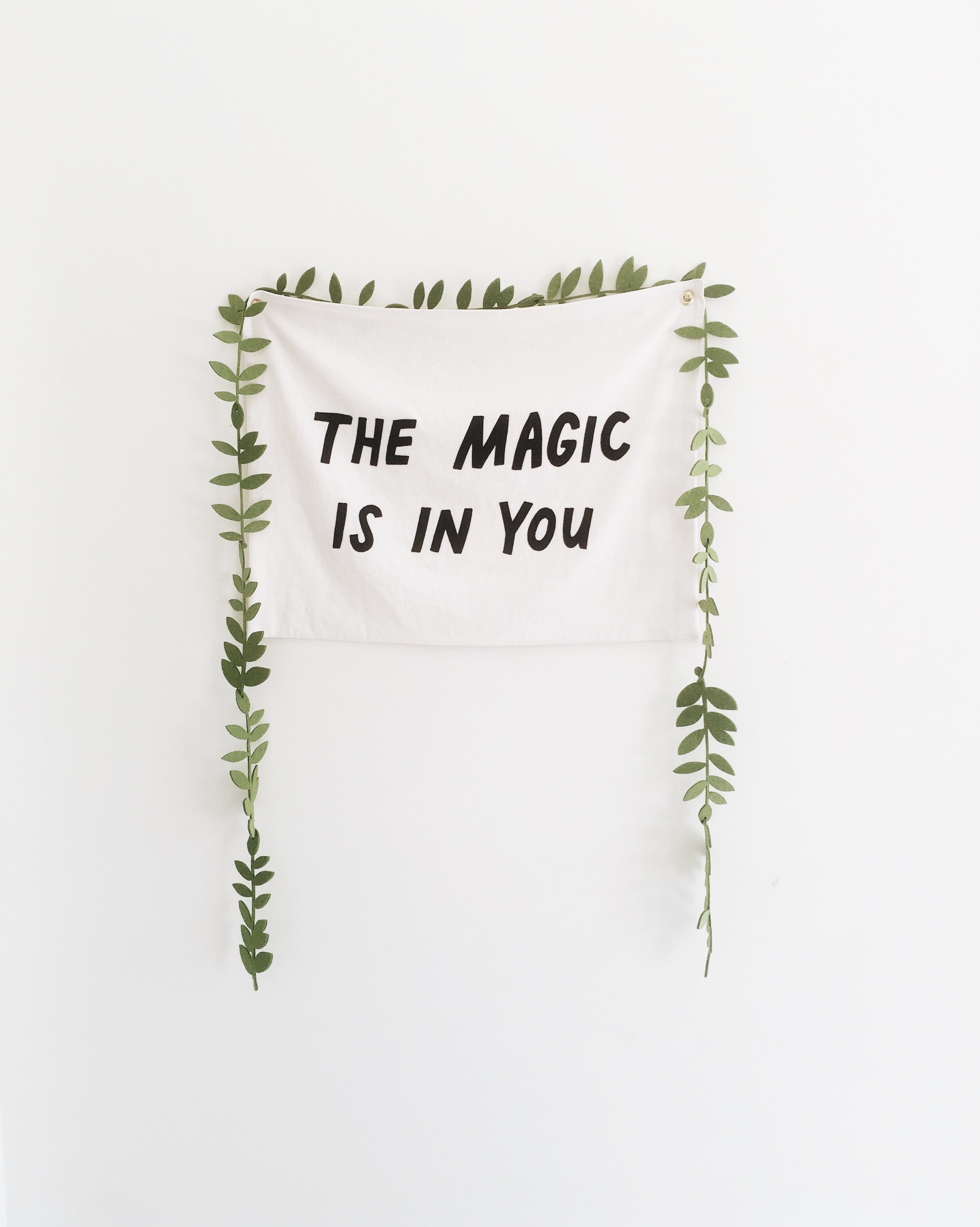 the magic is in you.