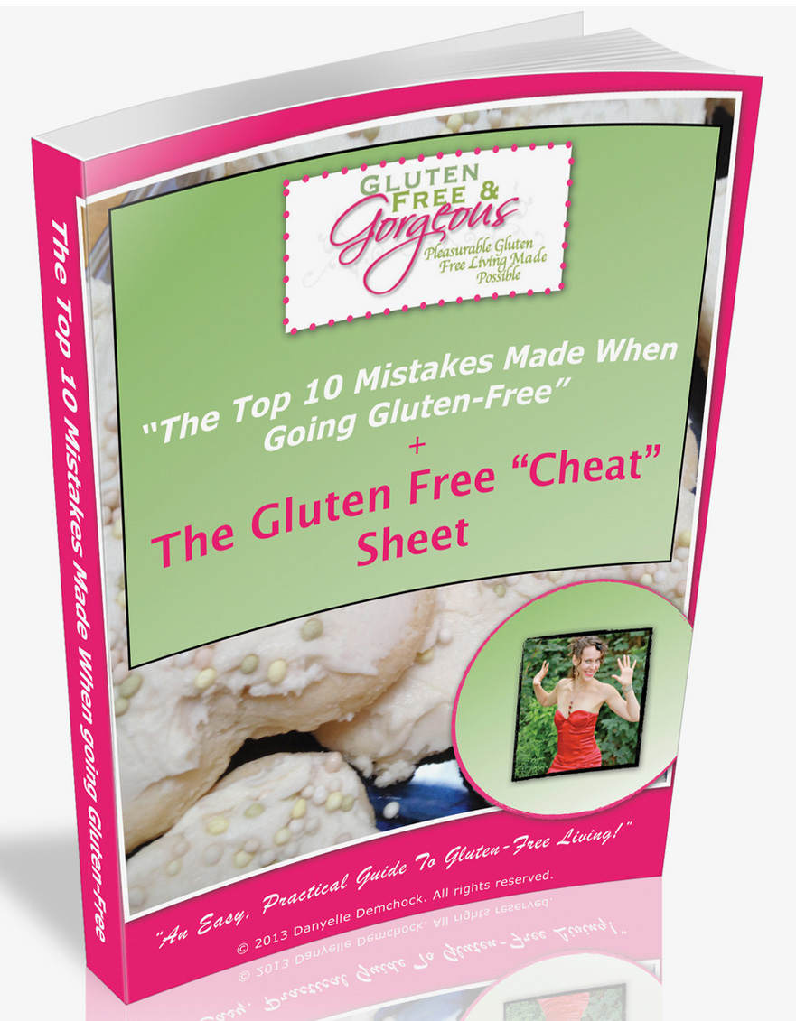 the top 10 mistakes made when going gluten free. the gluten free cheat sheet