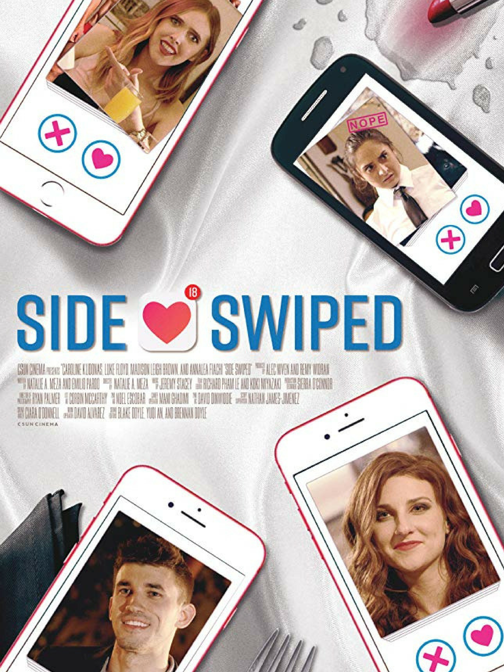 Indie Film Premiere - Side Swiped, in which Caroline plays the lead, is one of five films selected to premiere at the Samuel Goldwyn Theatre at the Academy of Motion Picture of Arts and Sciences.