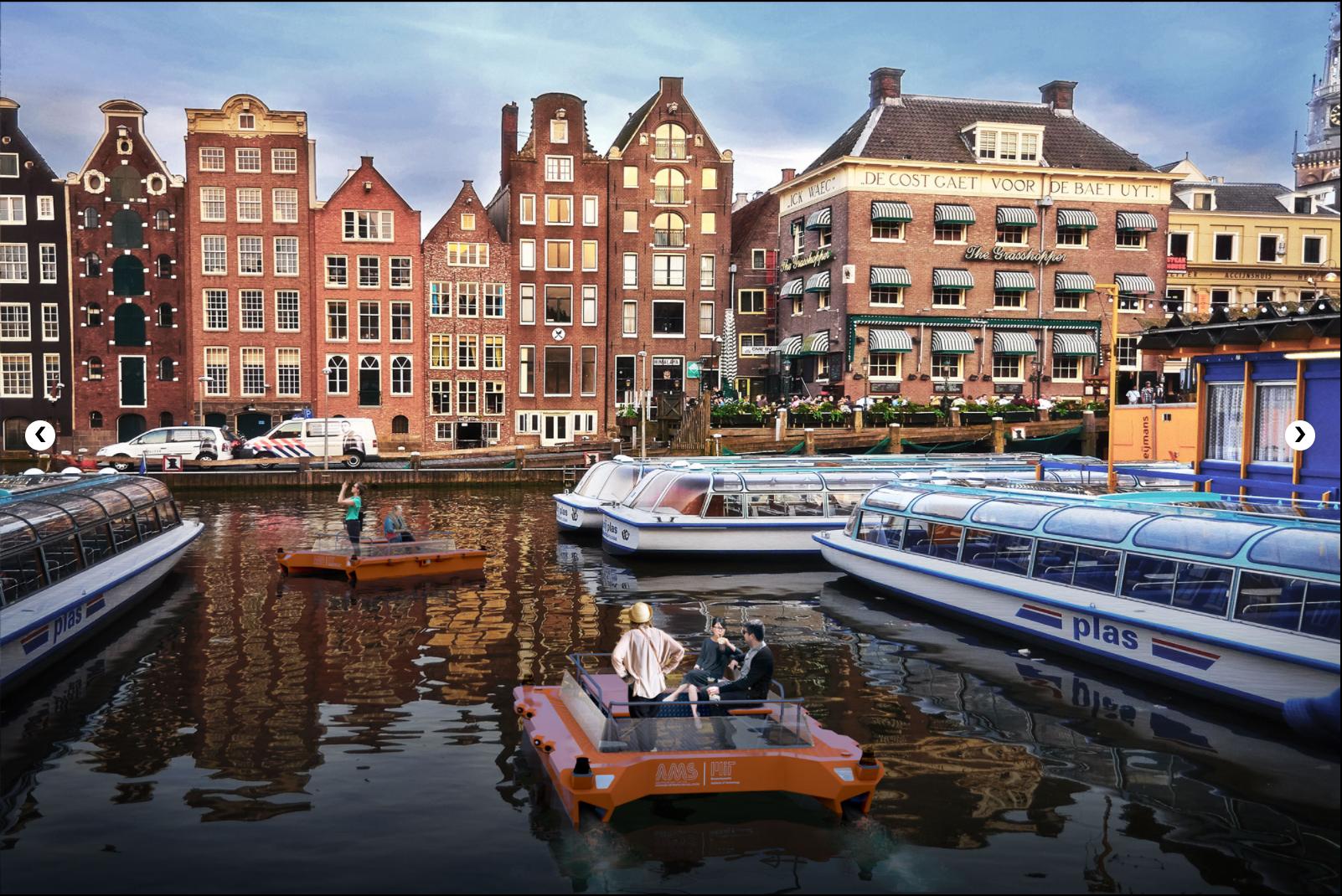 荷兰阿姆斯特丹ROBOAT