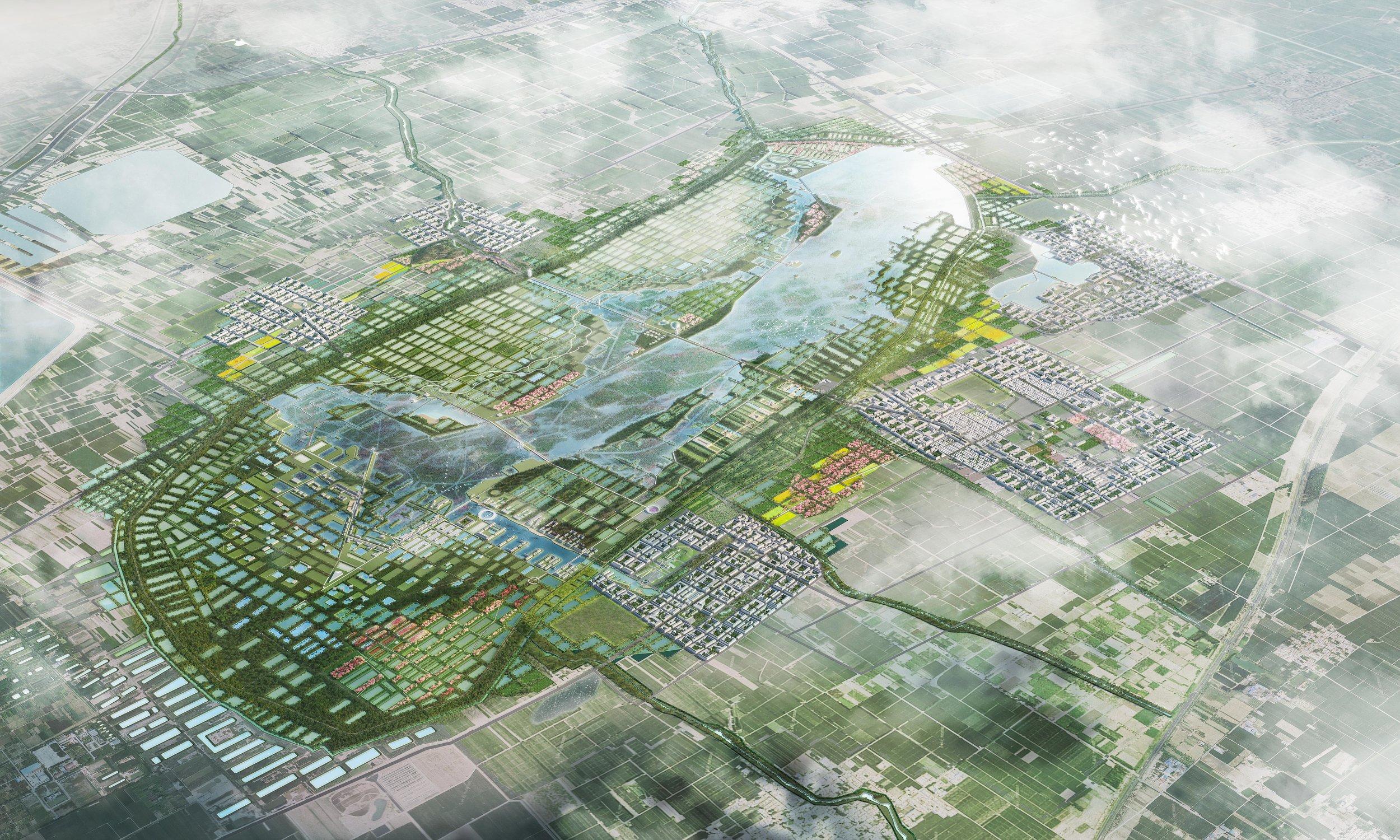 白云湖整体规划及片区城市设计