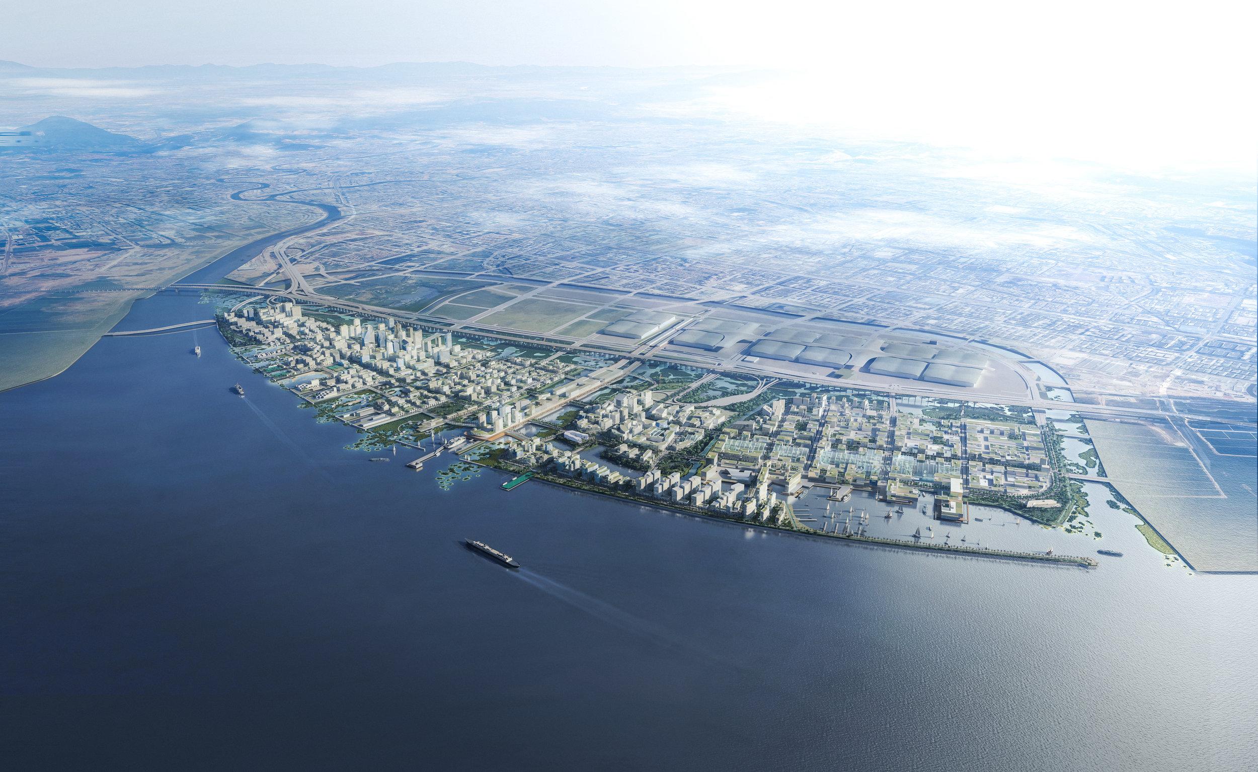 ....SHENZHEN NEW MARINE CITY URBAN DESIGN..    深圳海洋新城城市设计....