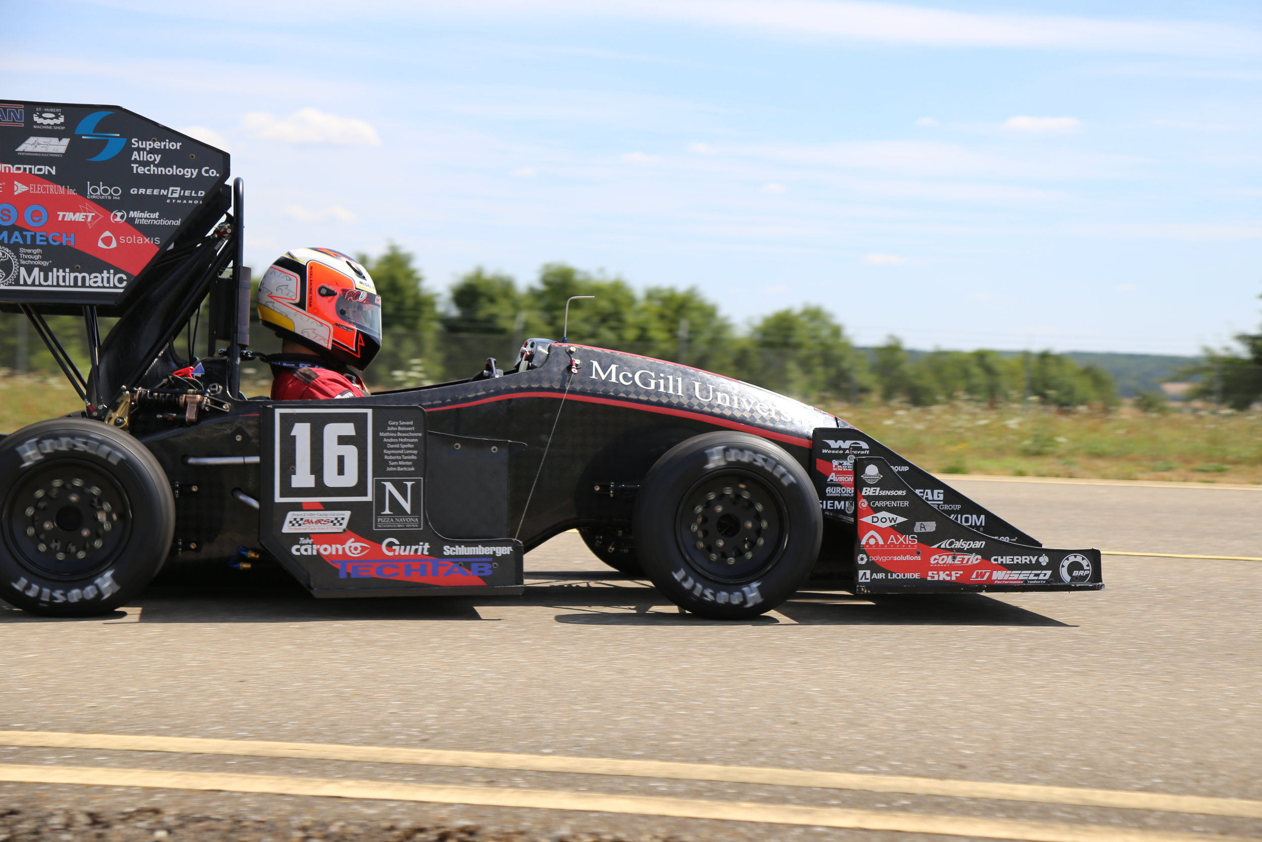 - McGill racing team