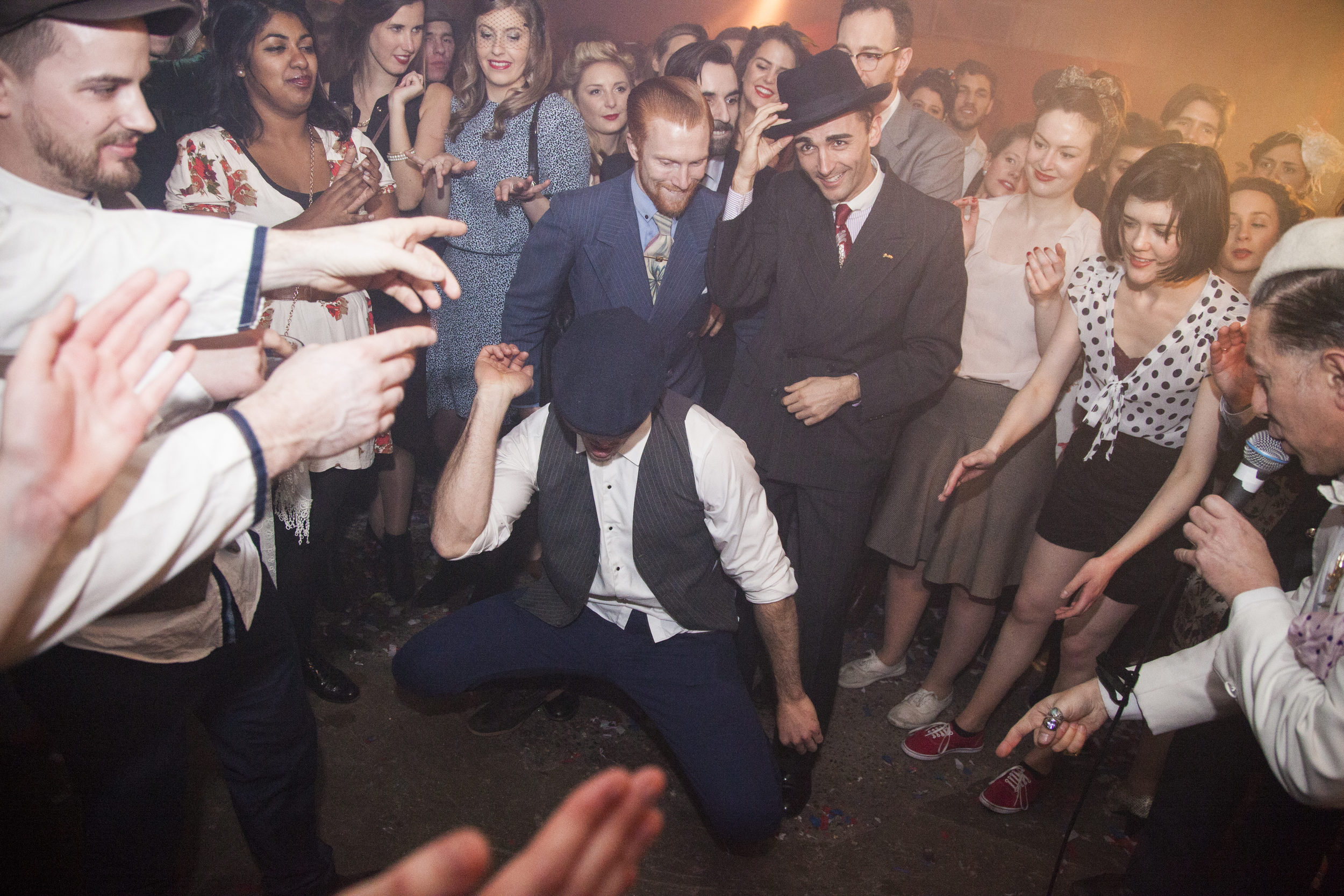 Dance classes at The Blitz Party in London