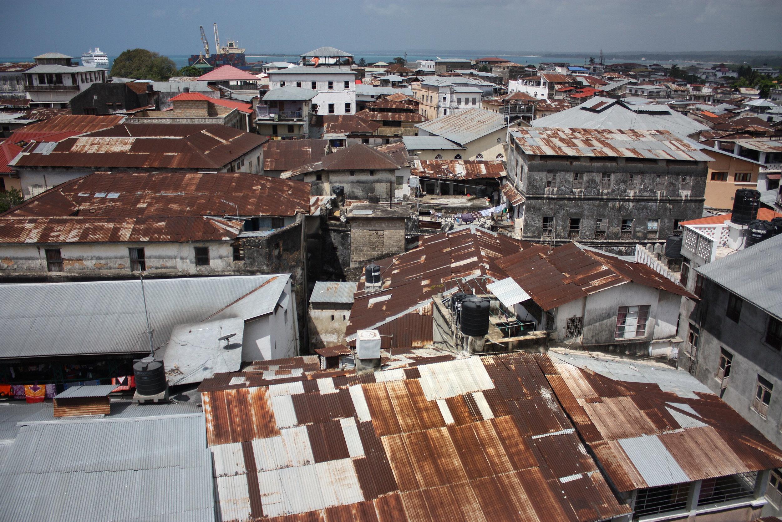 Patchwork Totan. Stone Town, Zanzibar