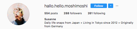 Noticed by Susanne from  Hallo.hello.moshimoshi