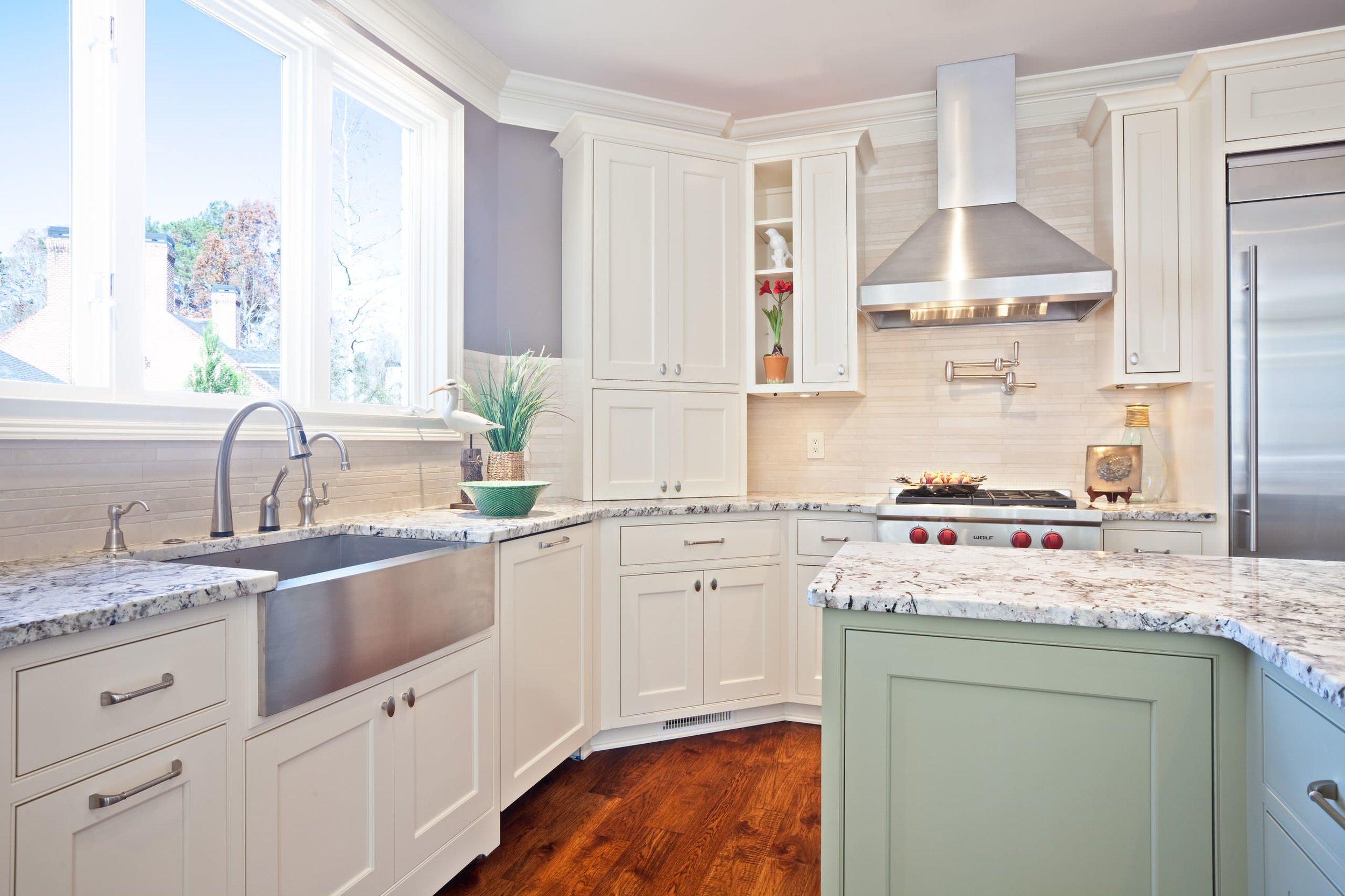 Mid Century Farm House Kitchen