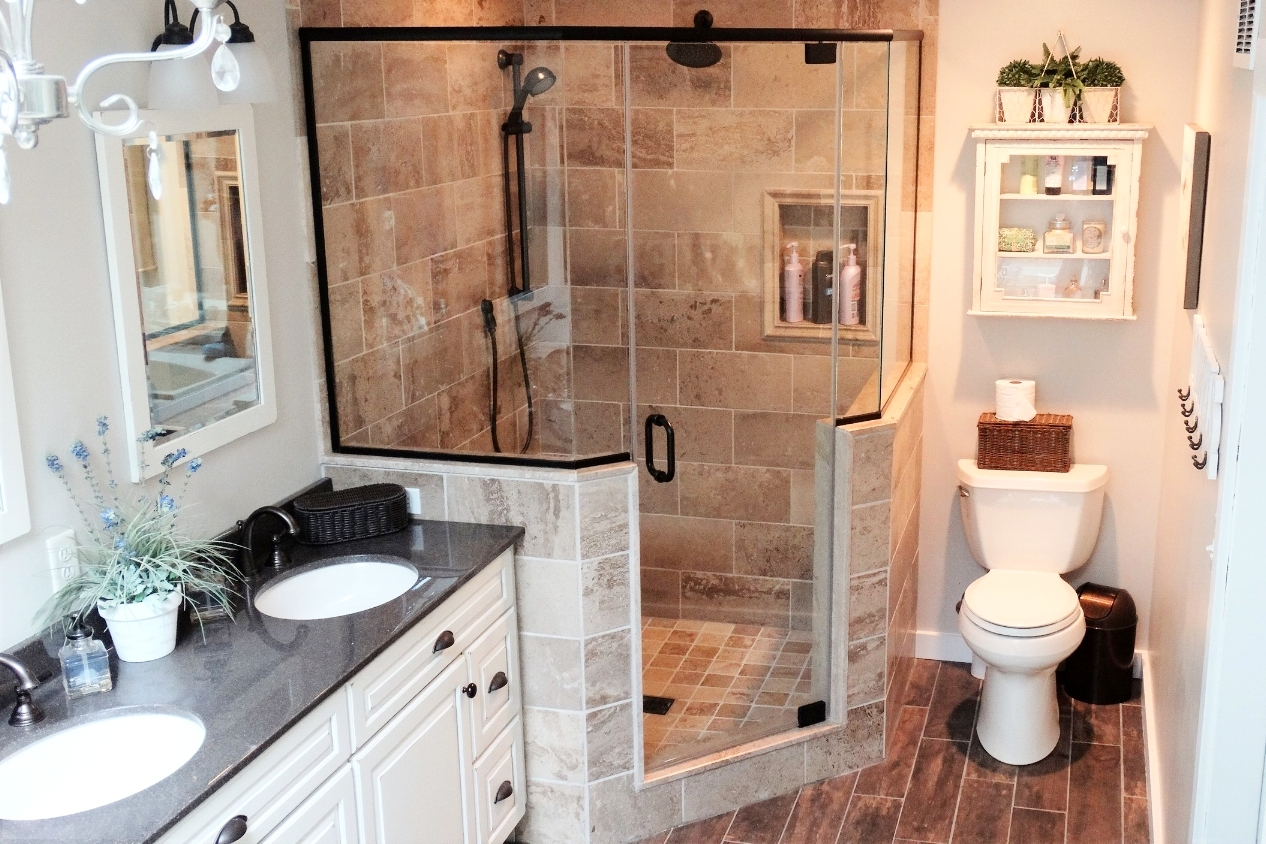Avon Lake bathroom remodel
