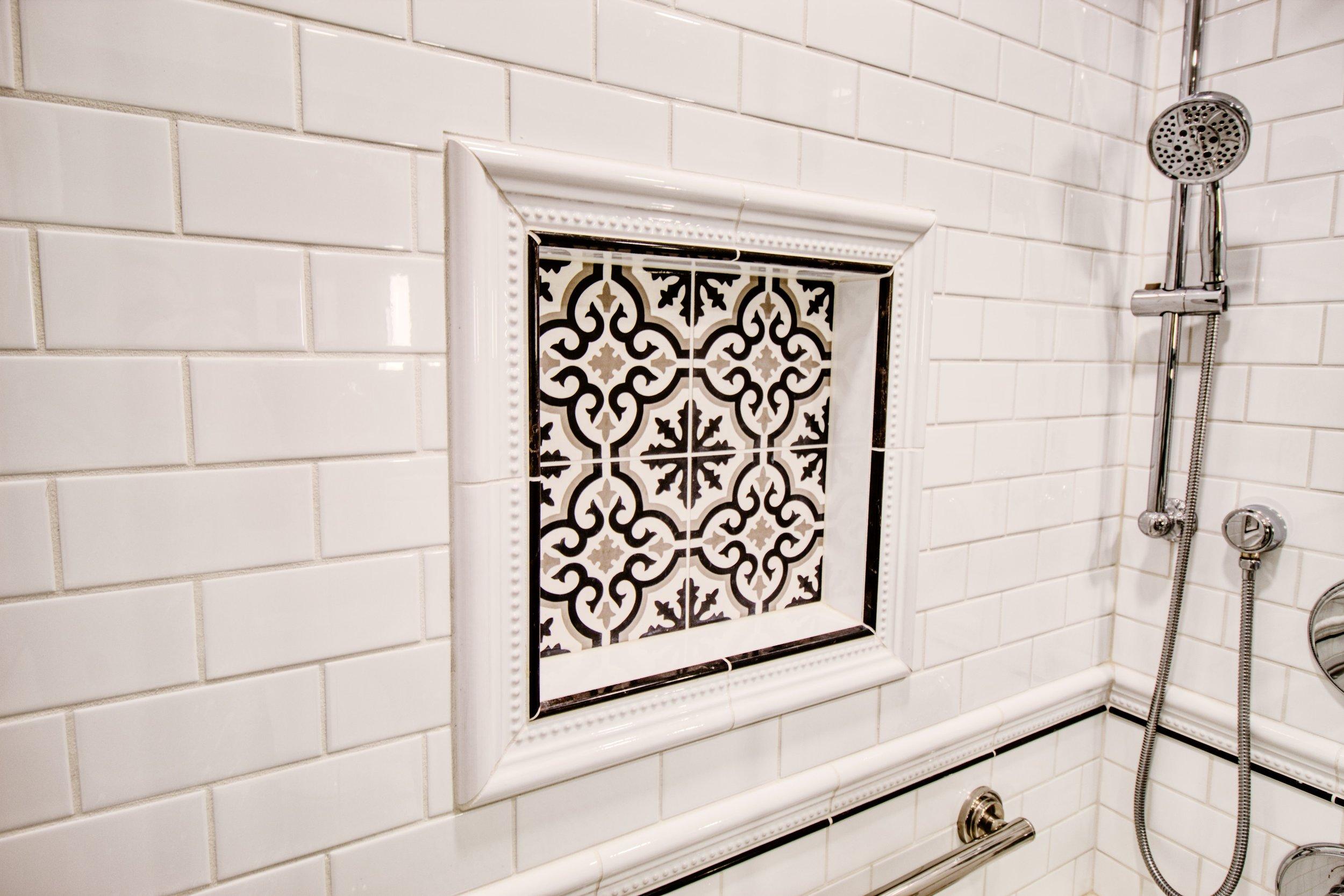 Intricate Tile Work