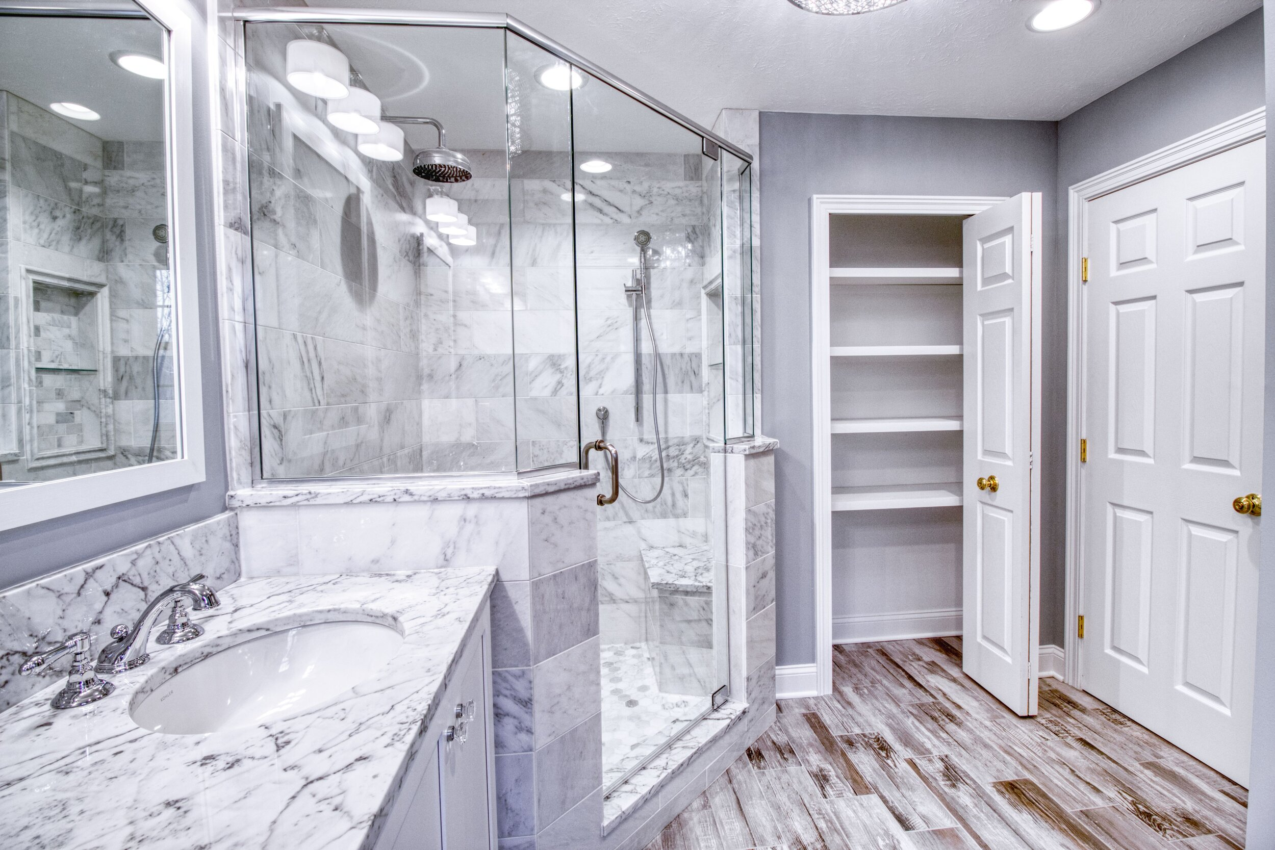 Bathroom Gallery Odell Construction Inc