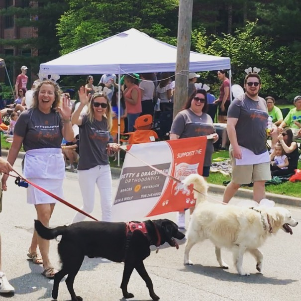 We had a blast seeing you all at the 73rd Annual LaGrange Pet Parade with P&D's new mascot #stellathetoothfairy 🐶 🦷 🧚♂️