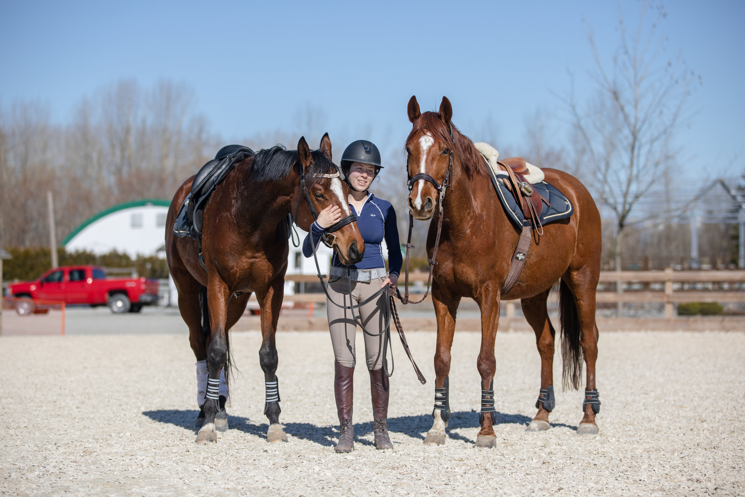 23 years old, declared pro with my two show horses.