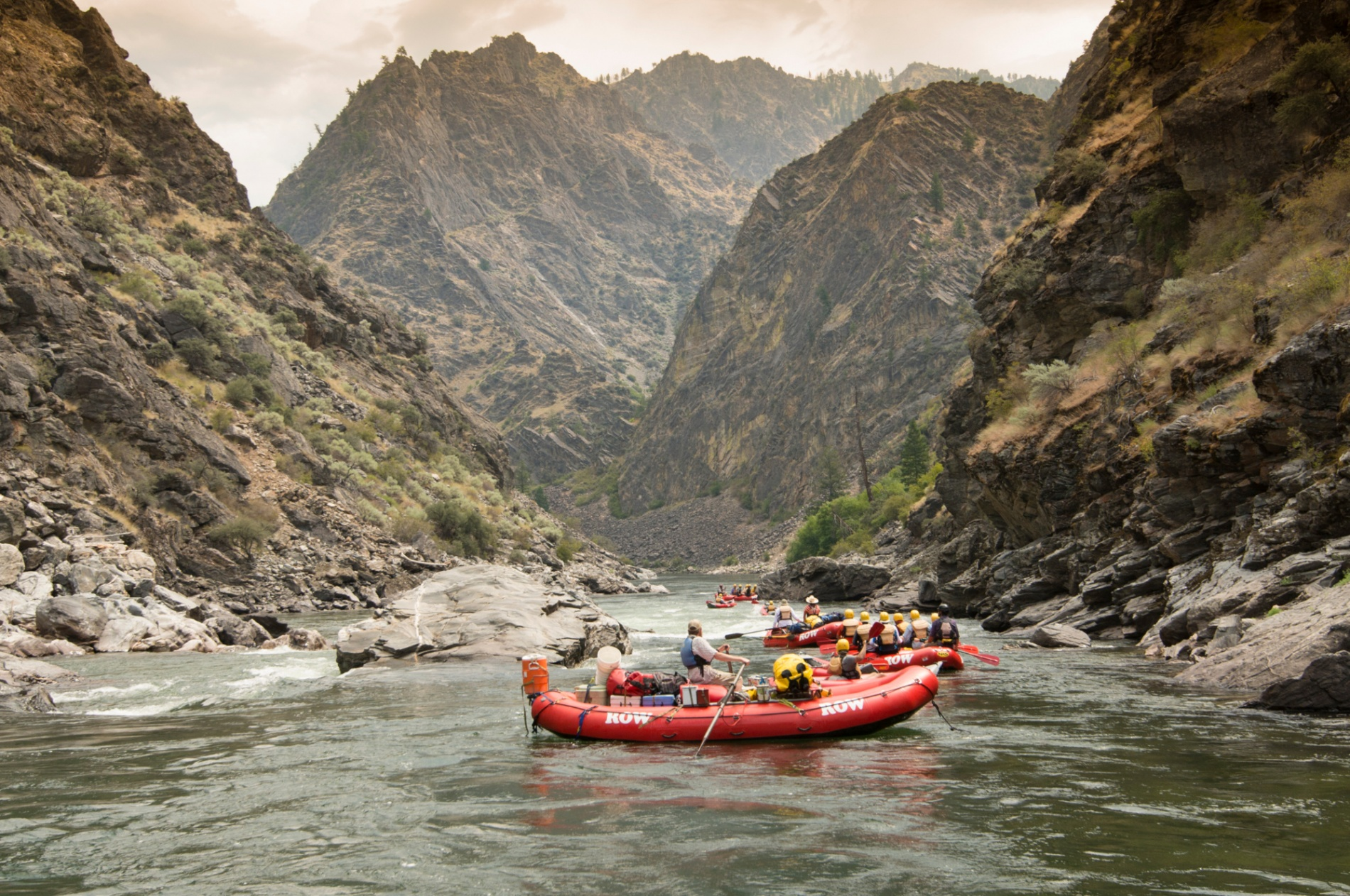 - The Middle Fork of Idaho's Salmon River runs 104 miles through one of America's most beautiful National Wildernesses.