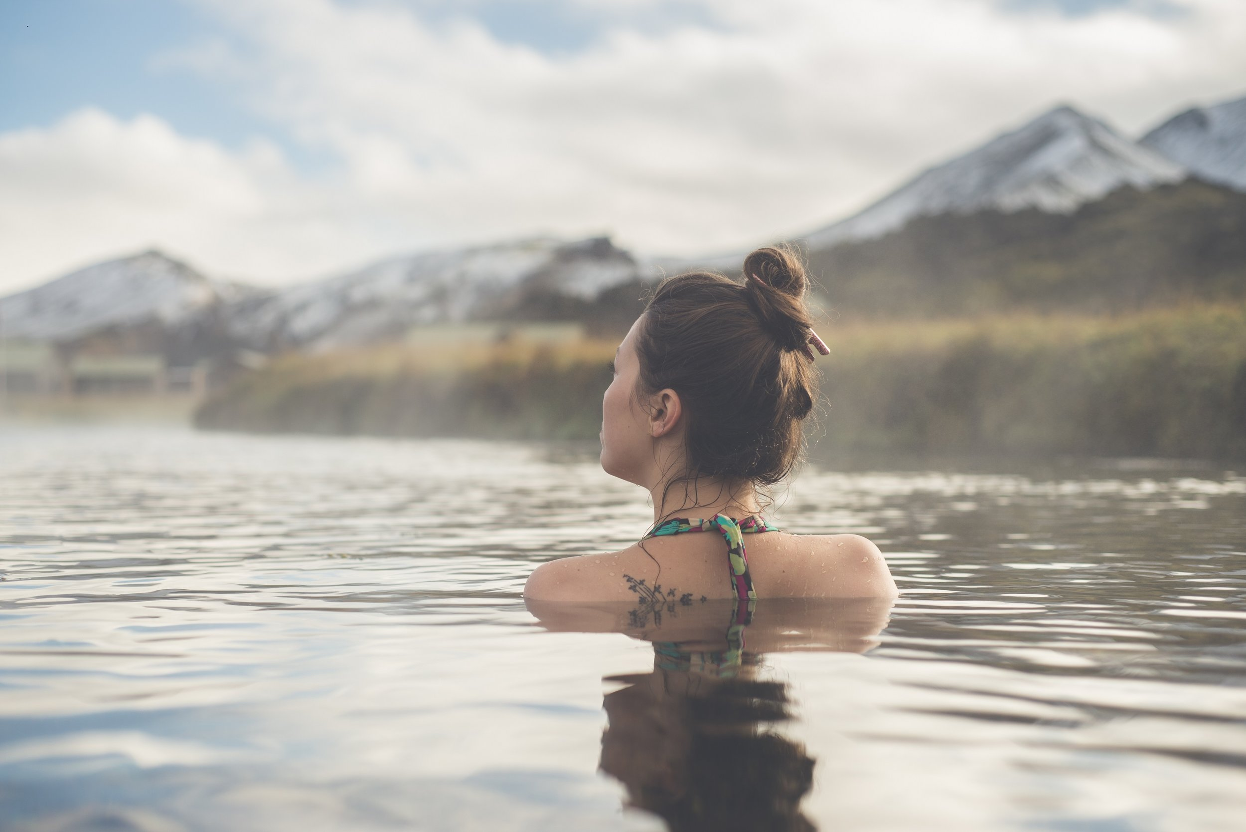 - Soak the day's muscle aches away in one of the many hot springs along the ride.