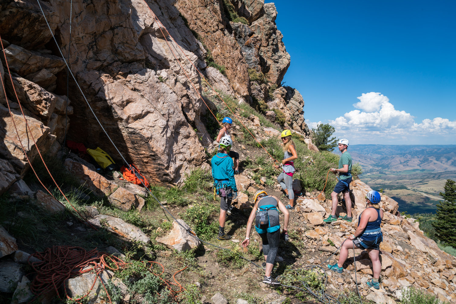- A full slate of outdoor activities, from SUP to mountain biking to rock climbing. Gear and instruction provided.