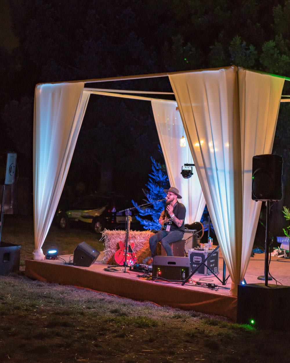 - With a schedule of live music, invite your fun to continue into the night.