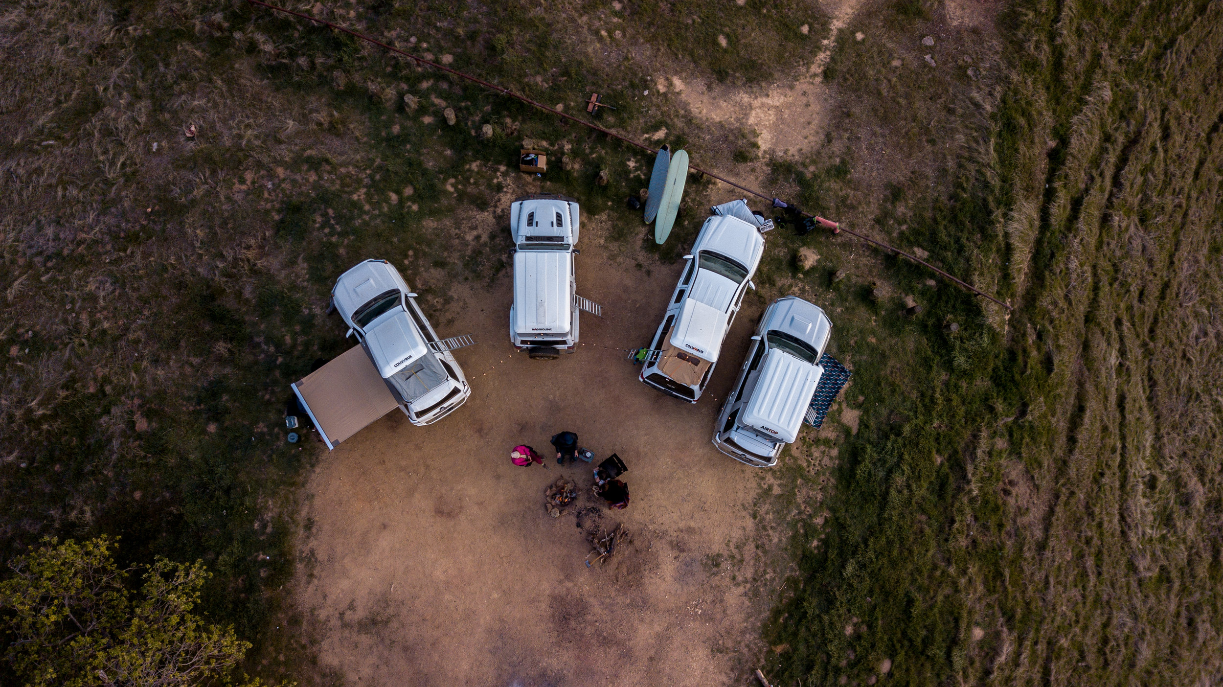 - Jeeps. 4Runners. Rooftop tents for days.